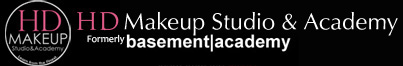 HD Makeup Studio and Academy logo